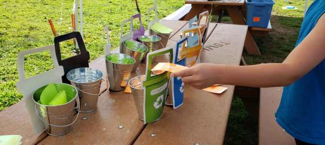 Fall Litter and Recycling Education